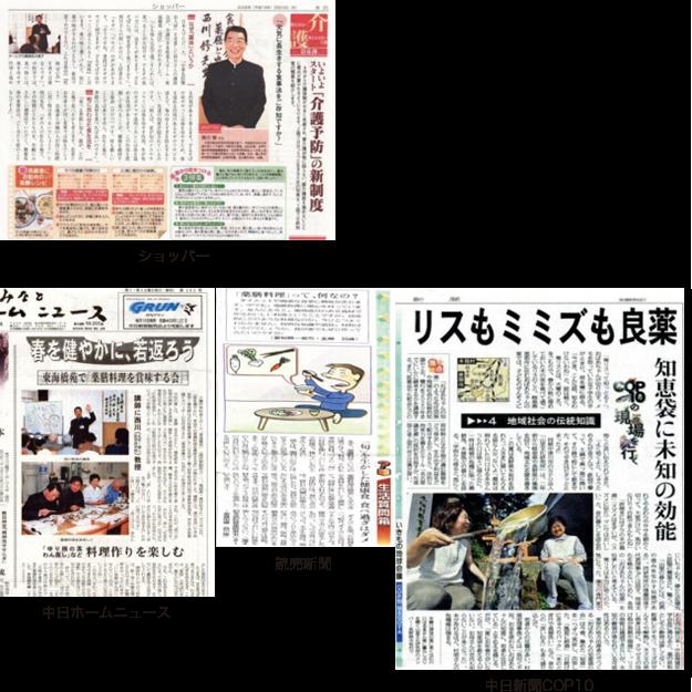 ショッパー 中日ホームニュース 読売新聞 中日新聞COP10